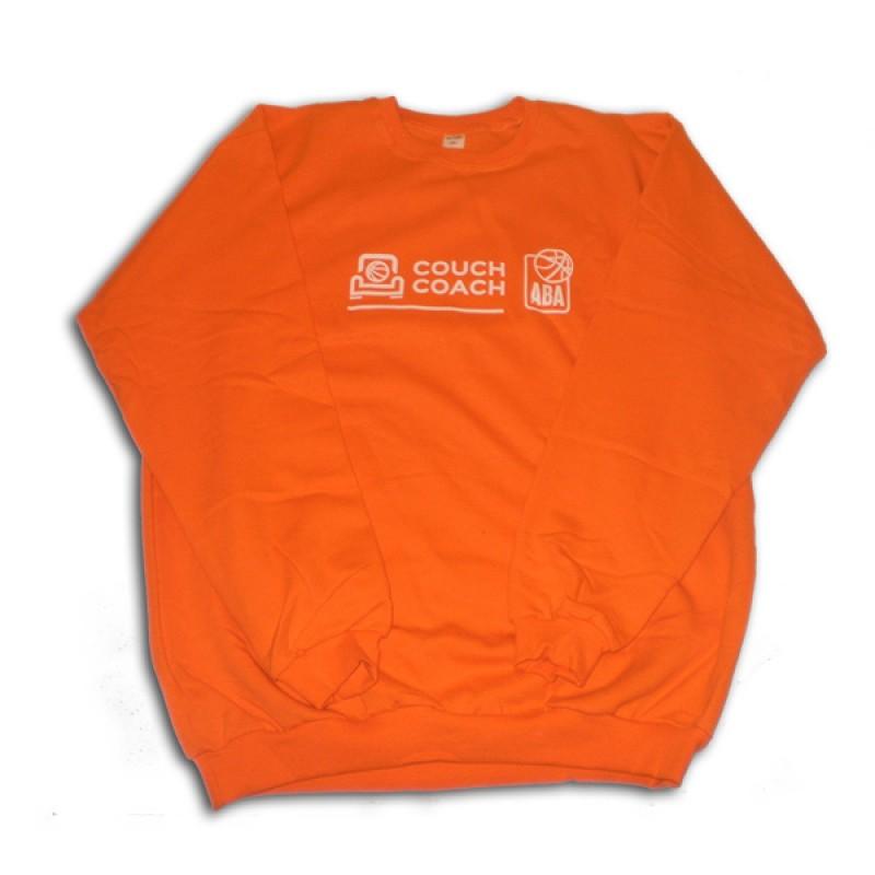 Dukserica narandžasta Couch Coach