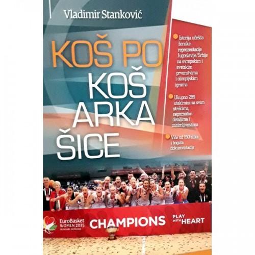 Koš po koš 3, košarkašice, autor Vladimir Stanković