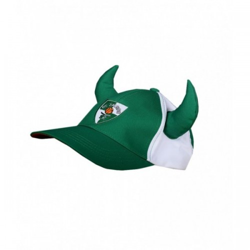 Hat with horns (GREEN)